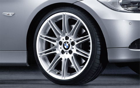 1x Bmw Genuine Alloy Wheel 19 Quot M Double Spoke 225 Rear E90