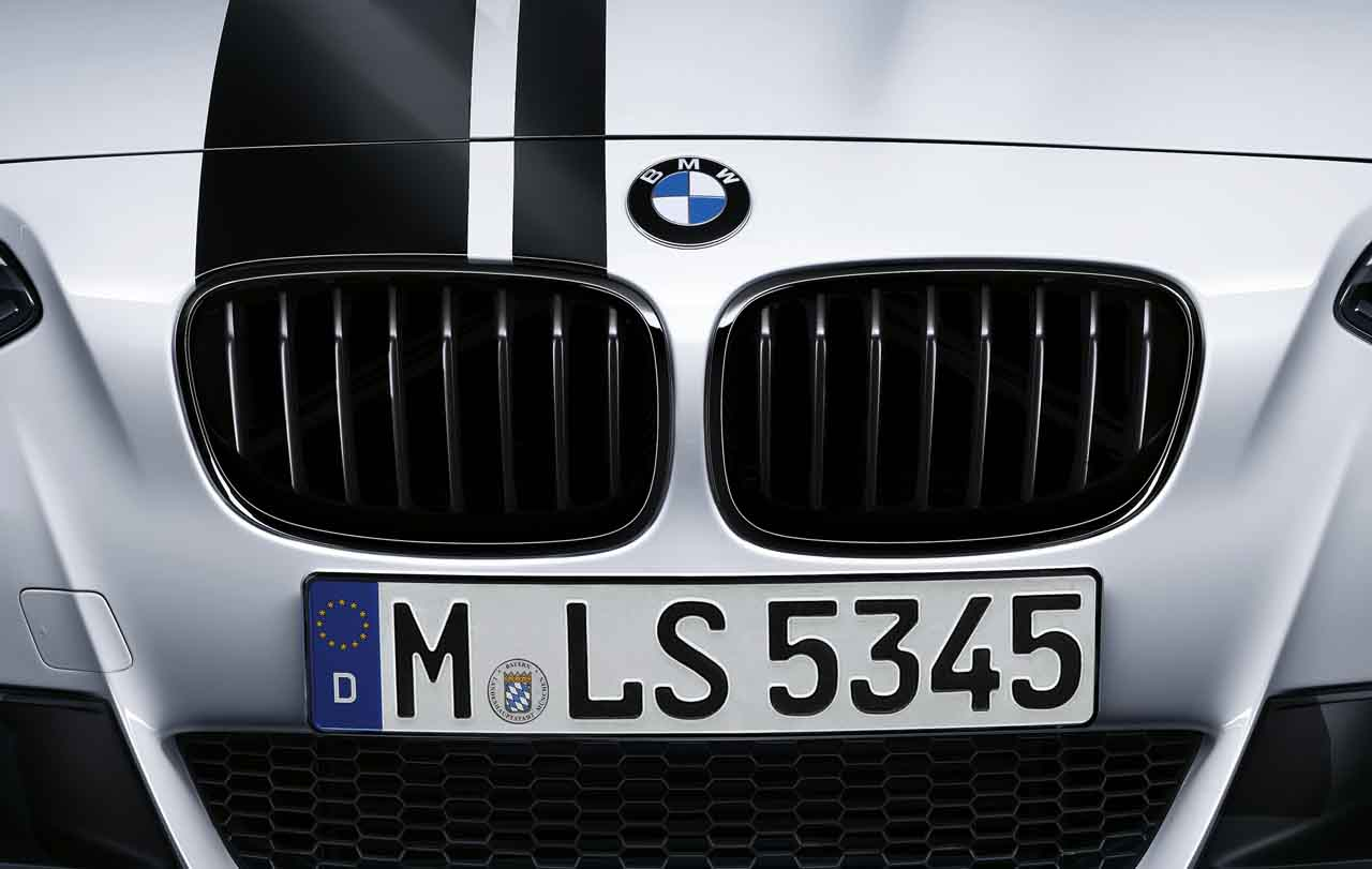 Bmw M Performance Genuine Front Left Kidney Grille Black