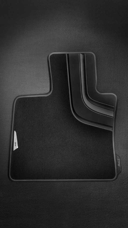 Bmw Genuine Tailored Front Car Floor Textile Mats