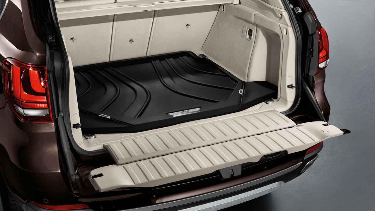 Bmw Genuine Fitted Luggage Compartment Boot Mat Liner F15