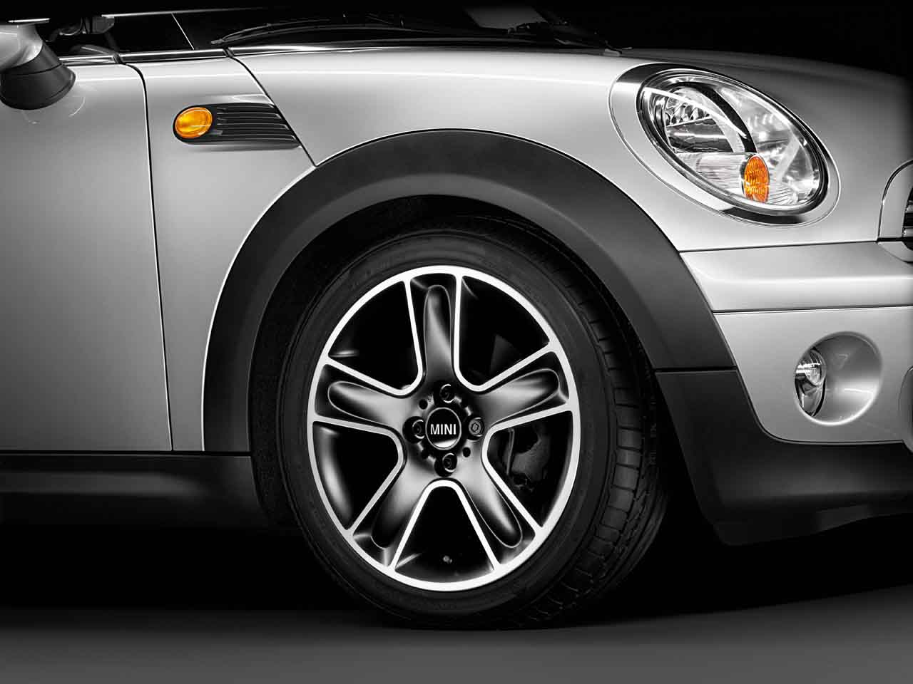 "Mini Cooper Interior >> MINI Genuine 17"" Inch Light Alloy Wheel Star Bullet R111 Black 36116784124 | eBay"