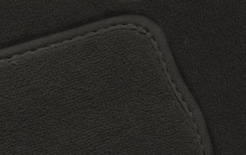 cloth itm black bmw floor carpet mat floors genuine mats