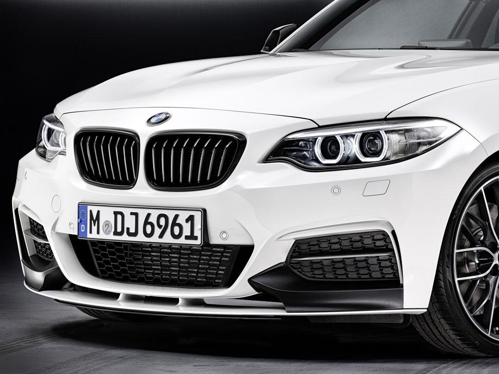 BMW Convertible bmw series 2 coupe BMW Genuine M Performance Front Splitter Black Matt F22 2 Series ...