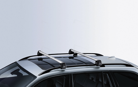 BMW Genuine Alu Aluminium Roof Bars Rack System E60 5 Series 82710147586