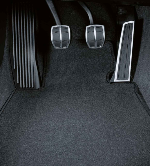 itm new genuine bmw mats pad floor black carpeted anthracite w