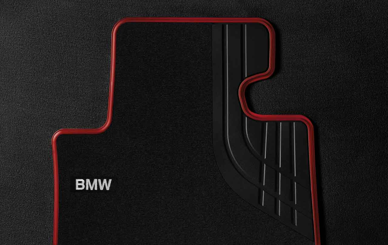 Bmw Genuine Textile Front Floor Mats Sport Design F20 F21