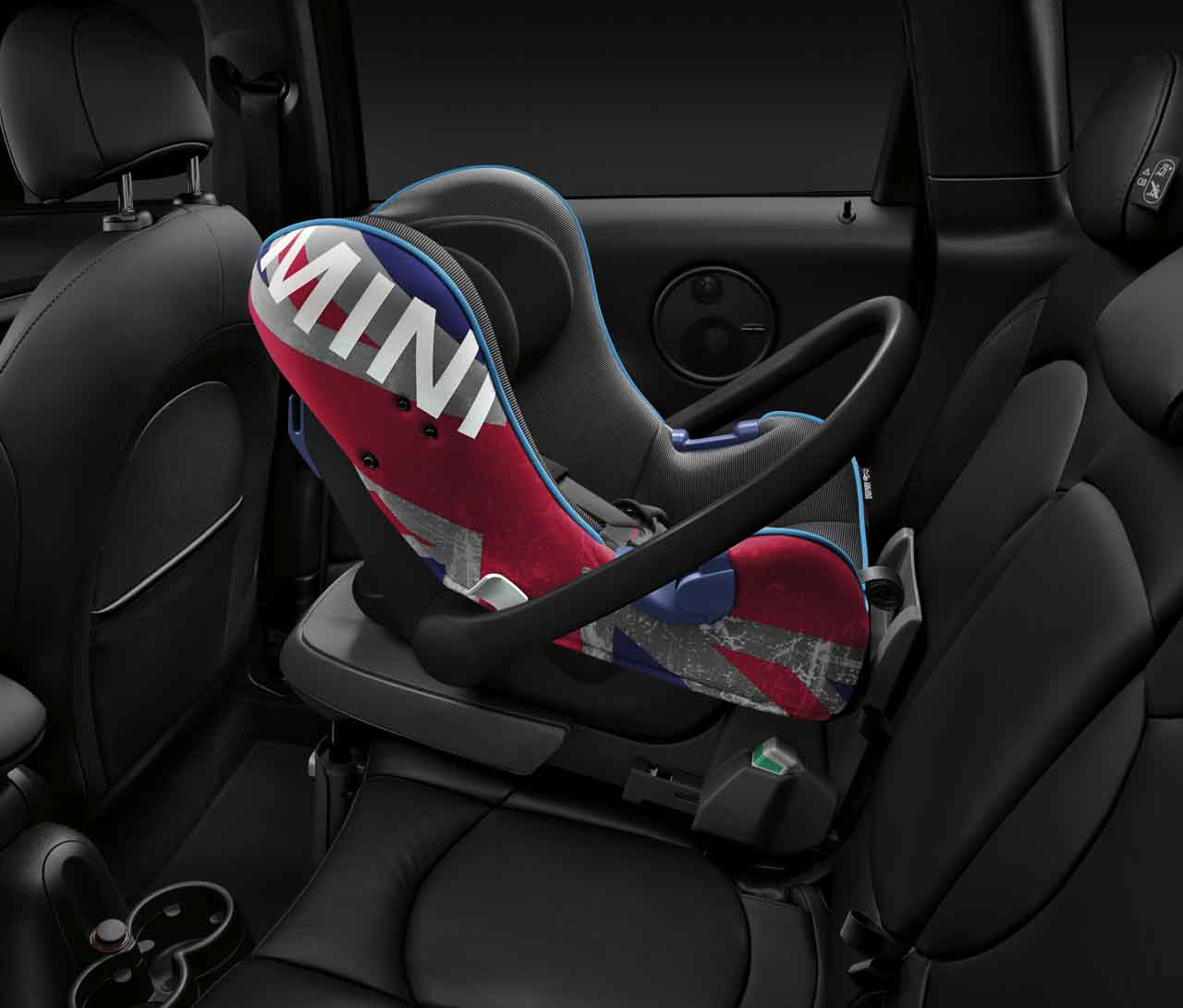 Mini Genuine Baby Child Safety Isofix Car Seat Group 0 Union Jack