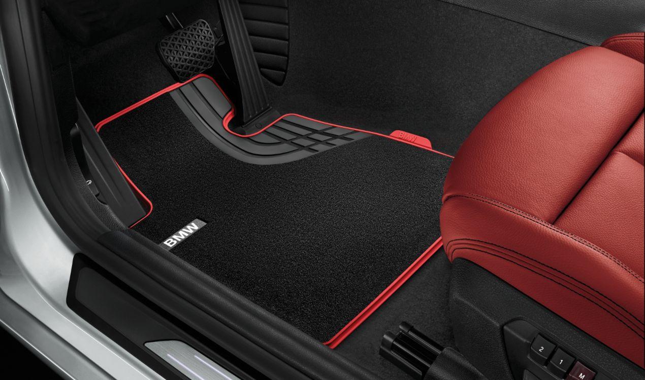 BMW Floor Mats >> Details About Bmw Genuine Sport Carpet Floor Mats Textile Front Set 3 Series 51472293365