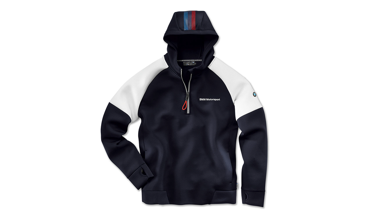Bmw Genuine Motorsport Hoodie Top Mens Neoprene Style