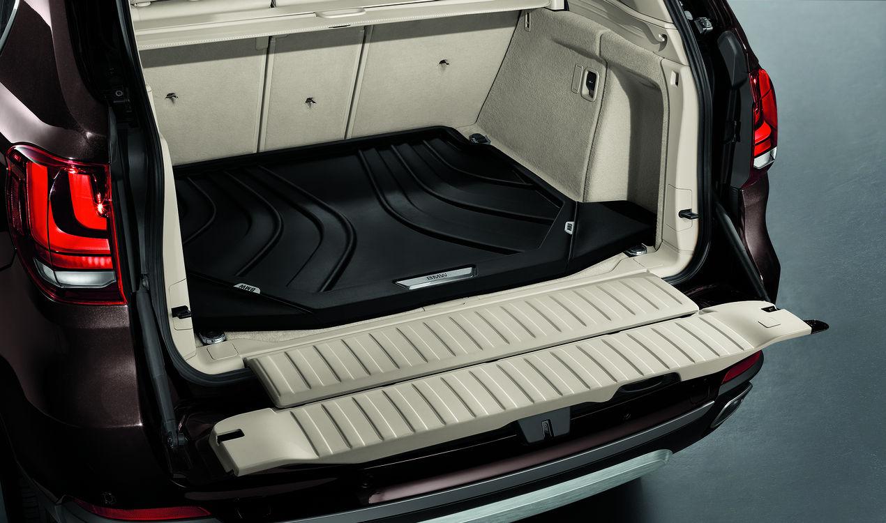bmw genuine f15 outdoor adventure pack - floor mats, boot mat