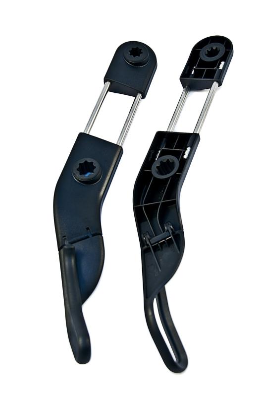 Bmw Genuine Left Right Headrest Seat Belt Holders Set