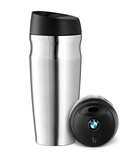 Bmw Genuine Thermo Mug Thermos Travel Cup Logo On Cap