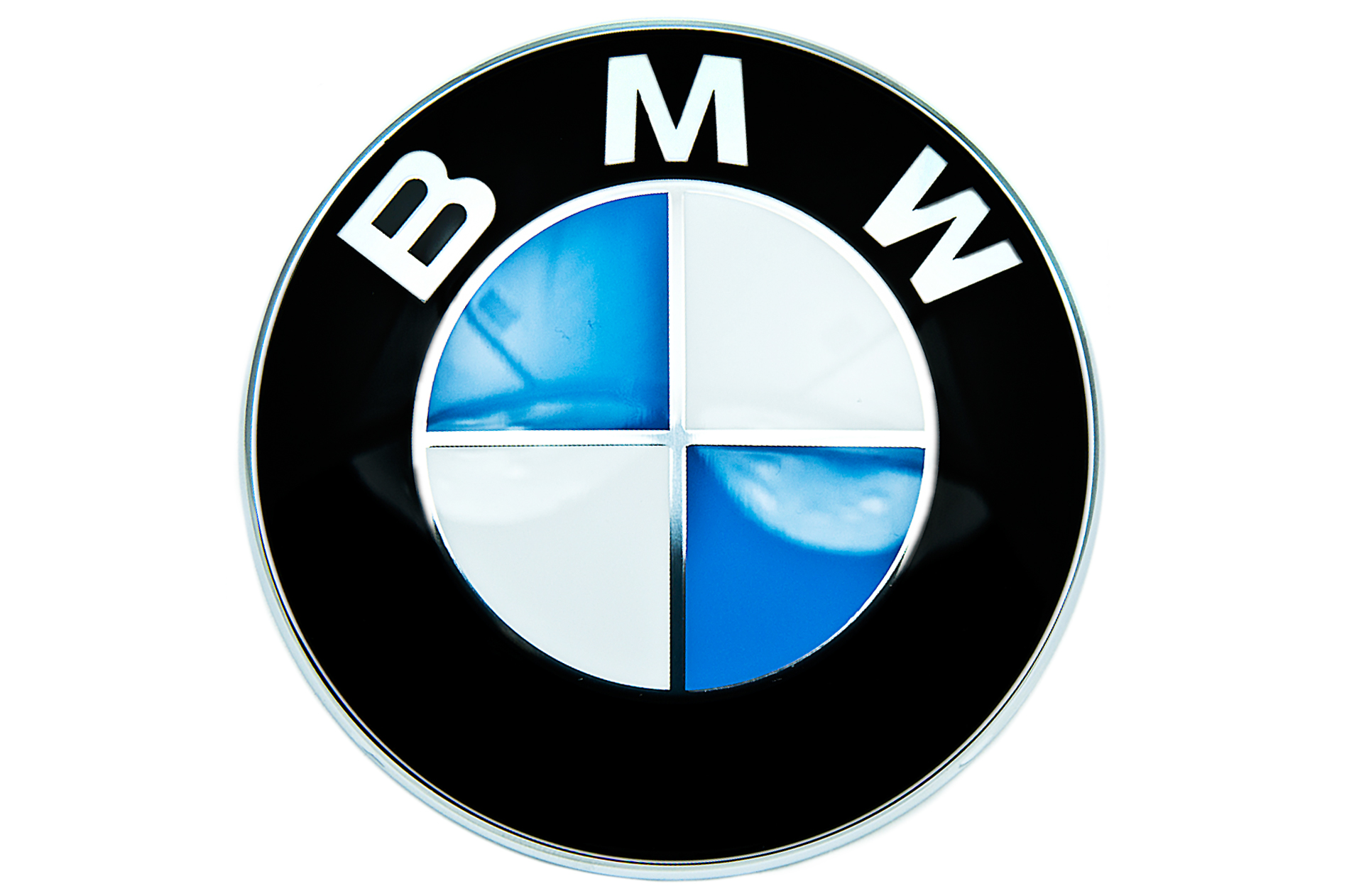 Bmw Genuine Front Roundel Emblem Badge Bonnet Hood 82mm