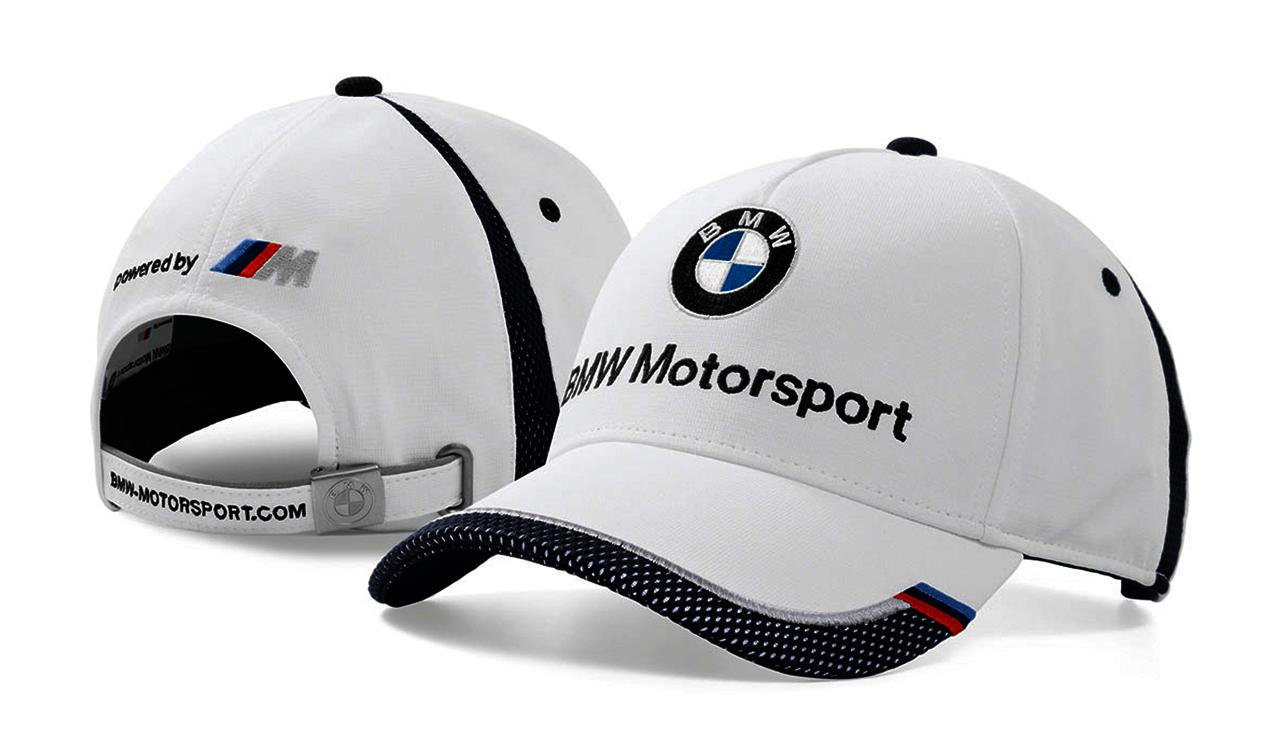5fca517649e BMW Genuine Motorsport Unisex Baseball Collectors Cap Hat - White ...