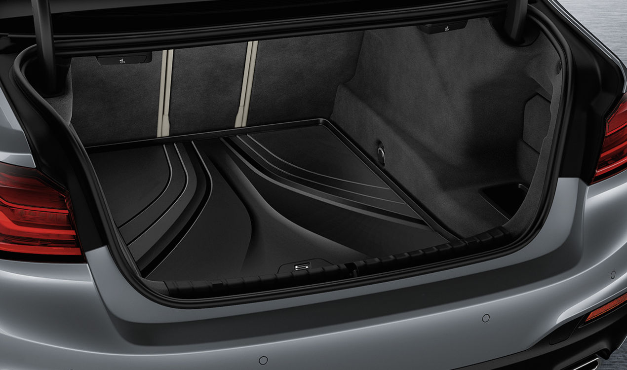 Bmw Genuine Fitted Luggage Compartment Boot Liner Mat G30