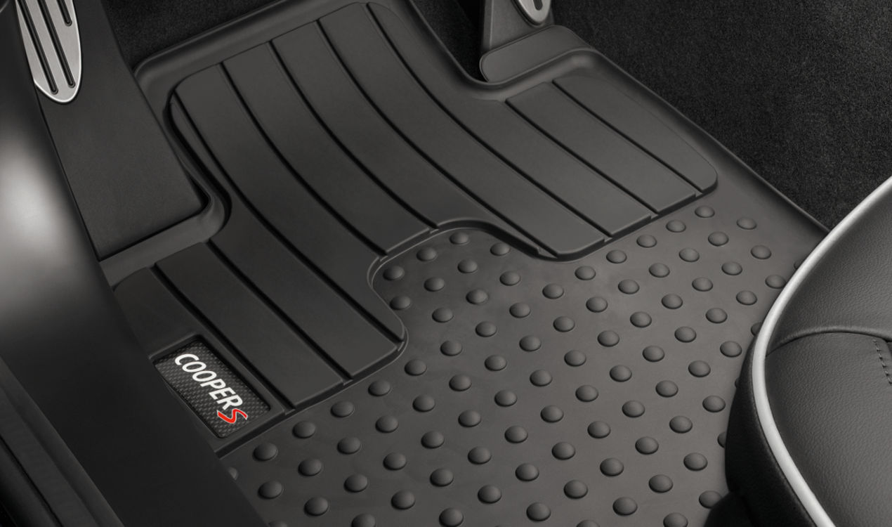 weather mat floor xdrive all cooper genuine rubber bmw p t mini mats