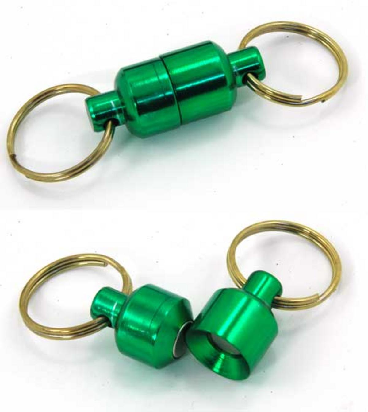 MAGNETIC NET RELEASE  CLIP OR FISHING ACCESSORY CLIP