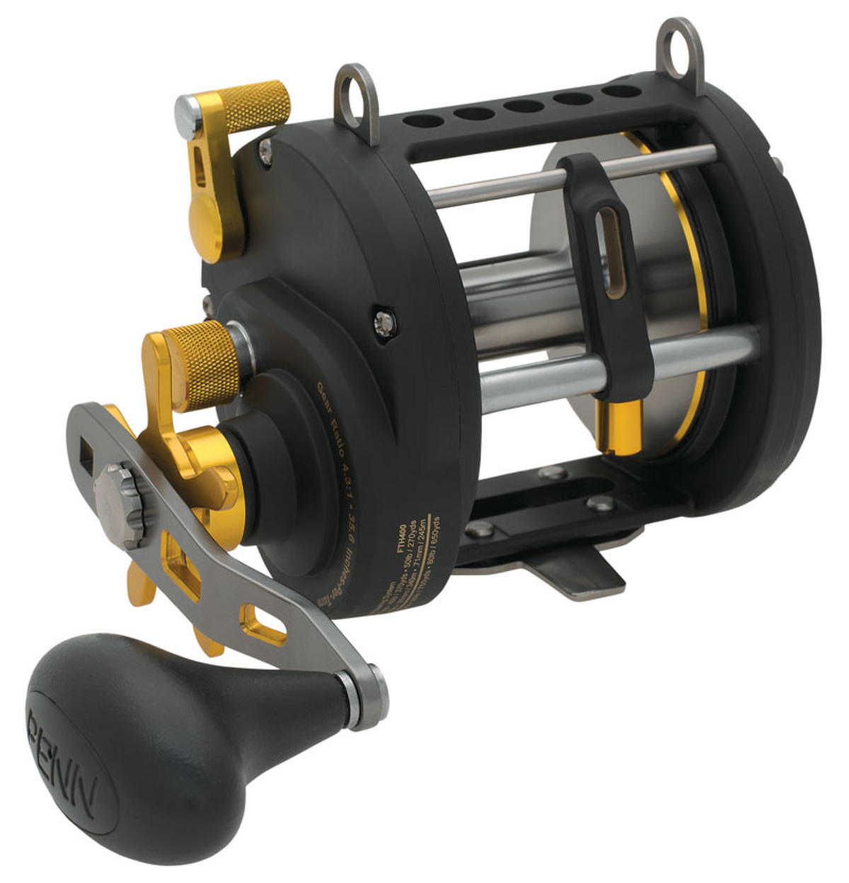 PENN FATHOM 40 LEVEL WIND MULTIPLIER FISHING REEL FTH40LW 1206091