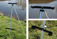 4 ' ALUMINIUM  BEACH TRIPOD ROD REST