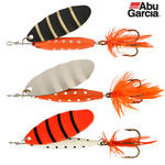 ABU GARCIA CLASSIC REFLEX SPINNER LURES 12g PACK OF 3 1109919