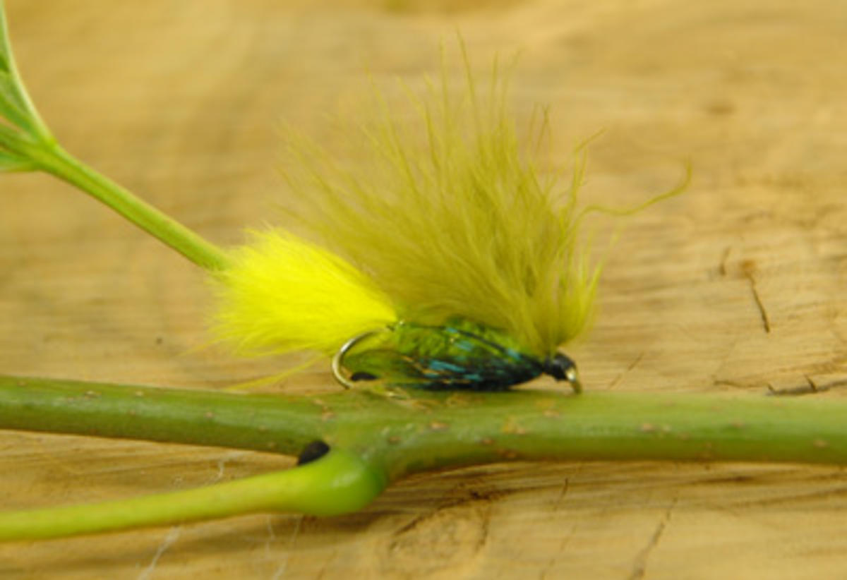 TALON TEN DAWSONS OLIVE SIZE 10 TROUT FLIES