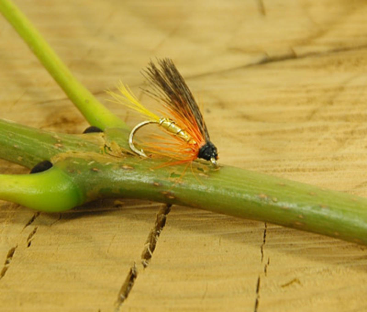TALON TEN DUNKELD SIZE 12 TROUT FLIES