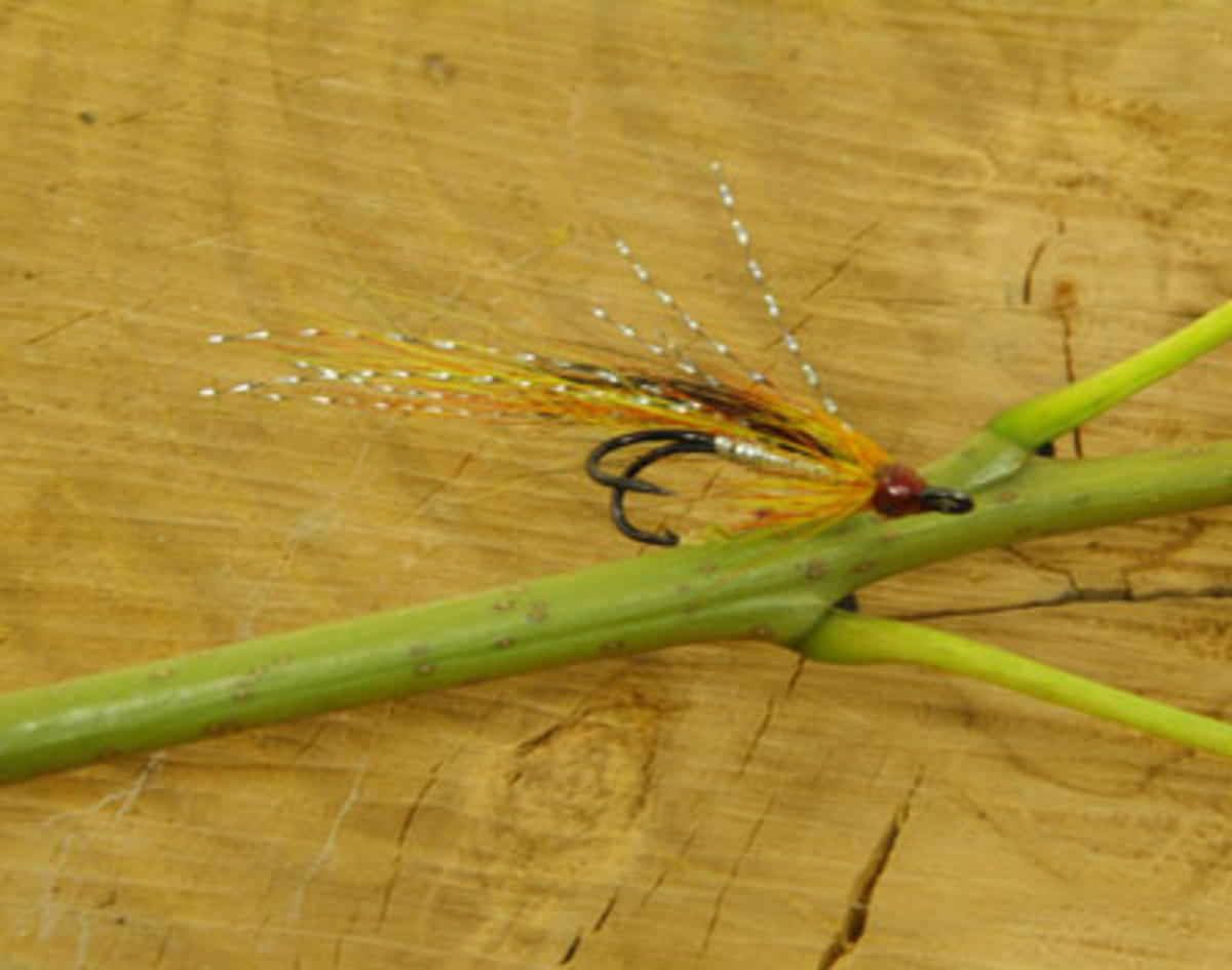 TALON TEN ALLY SHRIMP CASCADE SIZE 12 SALMON DOUBLES