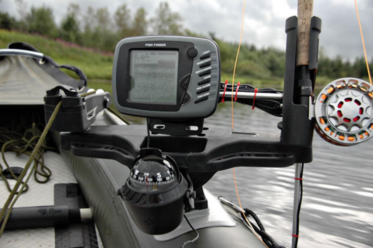 Bison Marine System Console For Kayak And Canoe Fishing