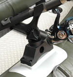 BISON MARINE SYSTEM GLUE ON  BOAT ROD HOLDERS FOR RIBS KAYAKS & INFLATABLES