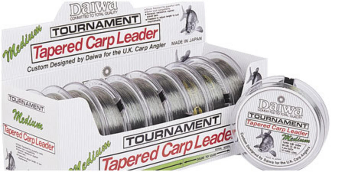 DAIWA TOURNAMENT CARP LEADER-M 12-30 Model No TCLM
