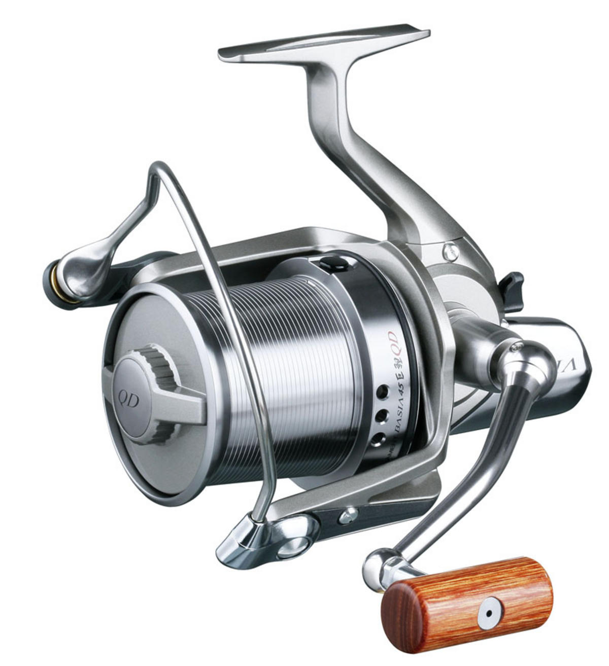 Daiwa tournament basia 45 qda model no bas45qda carp for Daiwa fishing reels