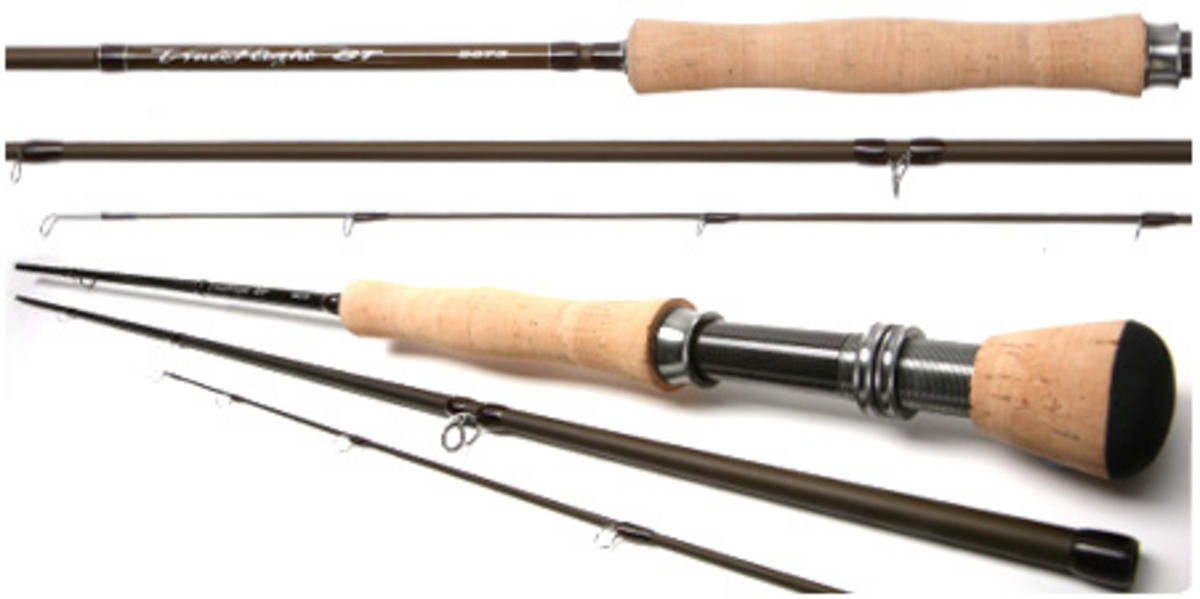 DAIWA TRUE FLIGHT ST 9' #6 3PC Model No TSTF906-3 FLY ROD