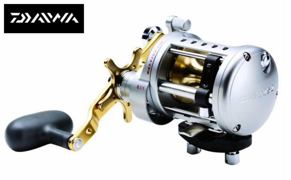 DAIWA SALTIST LW 40HA SEA FISHING BOAT MULTIPLIER REEL Model No STTLW40HA