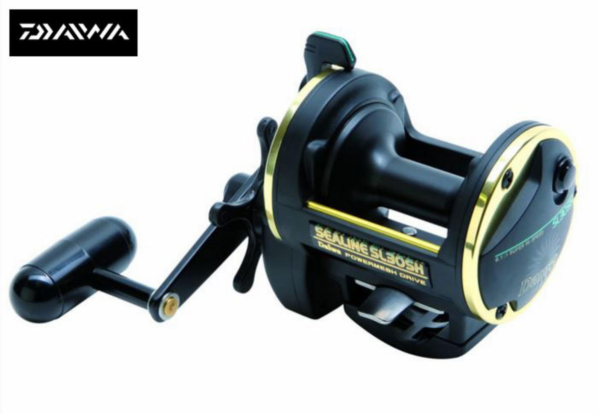 DAIWA SEALINE SLOSH SL30SH MULTIPLIER REEL POWERMESH SERIES Model No SL30SH