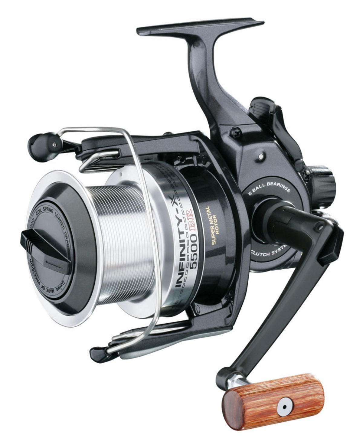 DAIWA INFINITY X 5500 BITE 'N' RUN Model No IFX5500BR SPECIMEN FISHING REEL