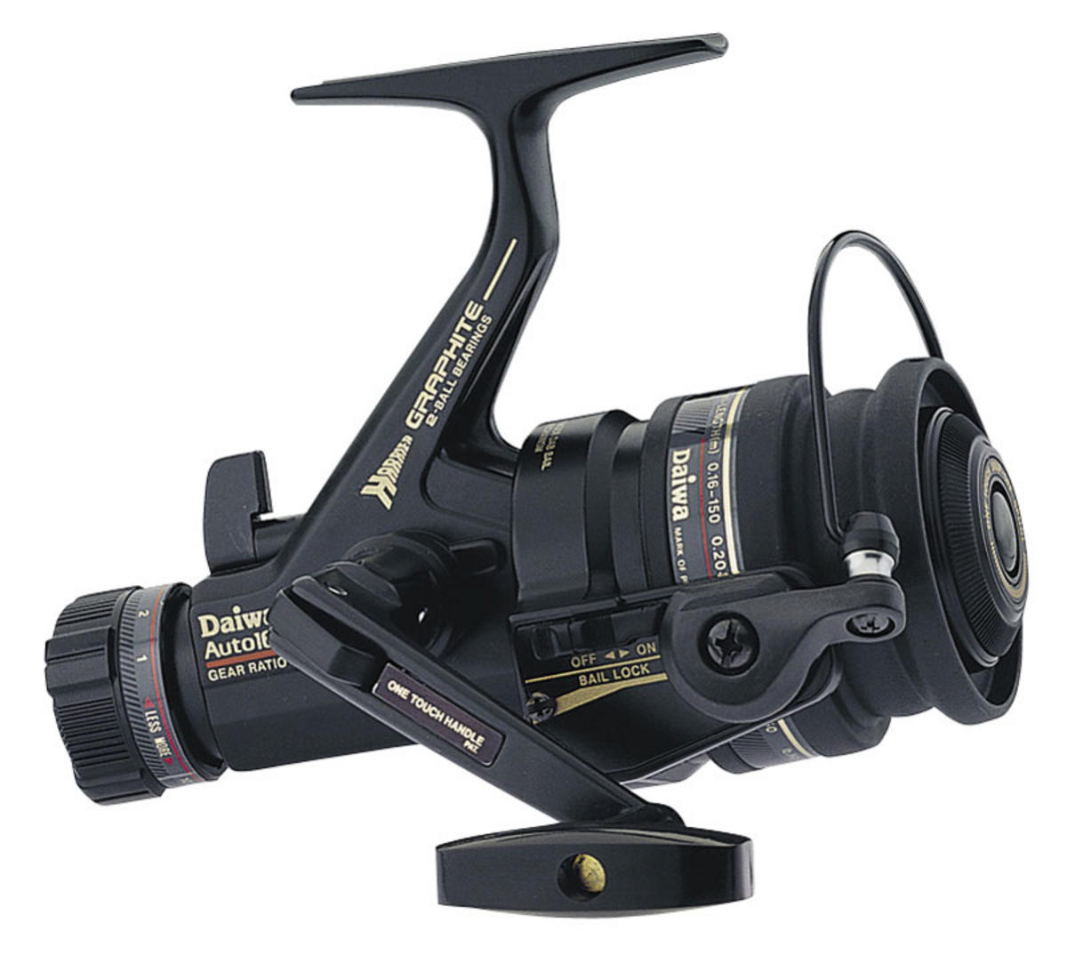 DAIWA HARRIER AUTO MATCH DELUXE Model No 1657DM MATCH REEL