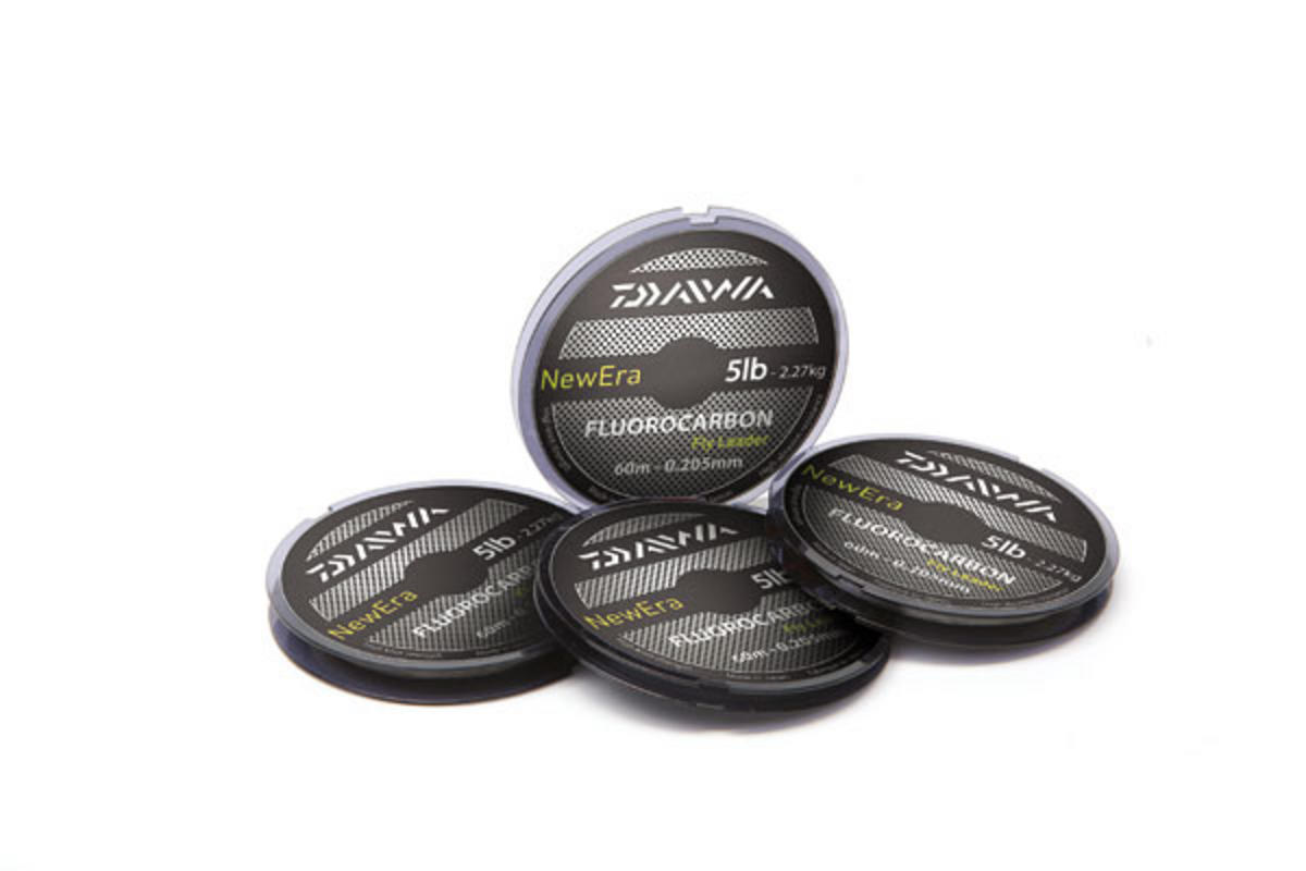 NEW DAIWA NEWERA FLUOROCARBON 60M SPOOL 5LB BREAKING STRAIN
