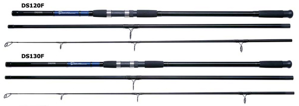 daiwa d surf 13ft 3 piece 4-8oz model no ds130f fishing rod, Fishing Reels