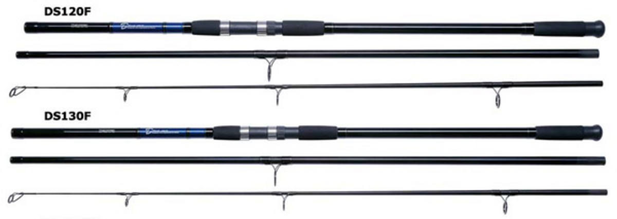 Daiwa d surf 13ft 3 piece 4 8oz model no ds130f fishing for 3 piece fishing rod