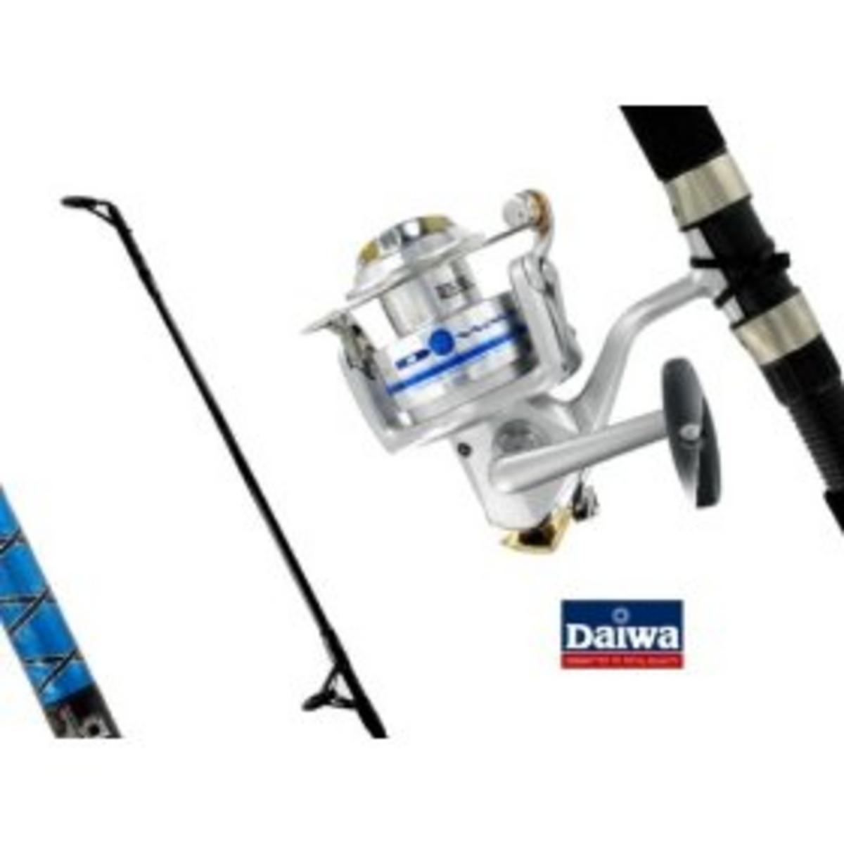 DAIWA D-WAVE 40 COMBO 8' 20LB  Model No DWV40-B/F802M-20C SPINNING REEL