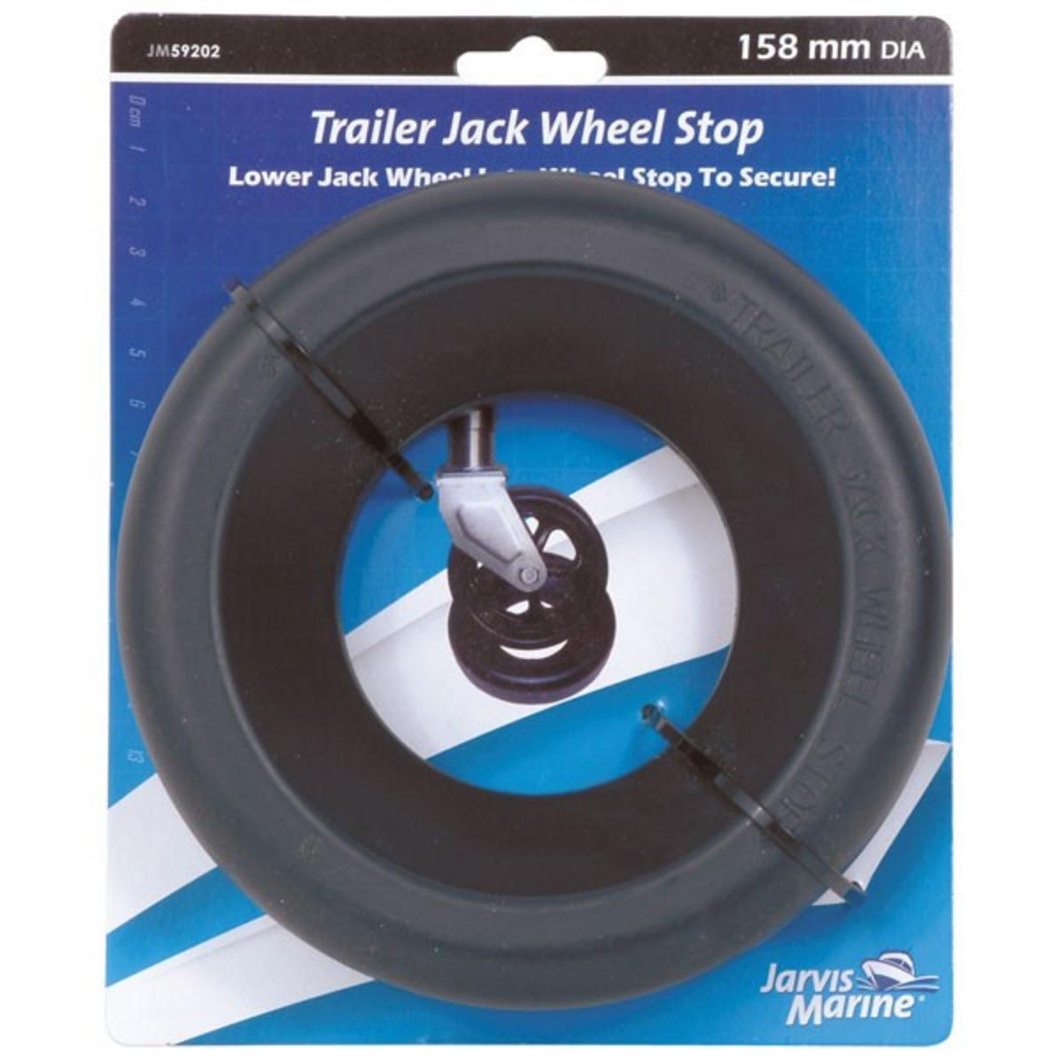 JARVIS WALKER MARINE TRAILER JACK WHEEL STOP