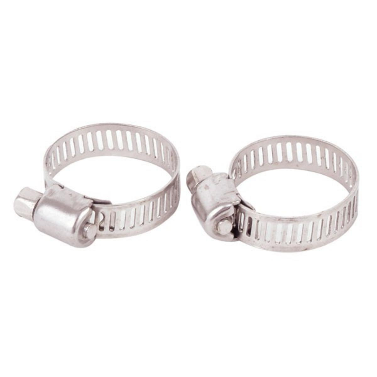 "JARVIS WALKER MARINE GRADE HOSE CLAMP STAINLESS 5/8"" TO 1.25"" PAIR"