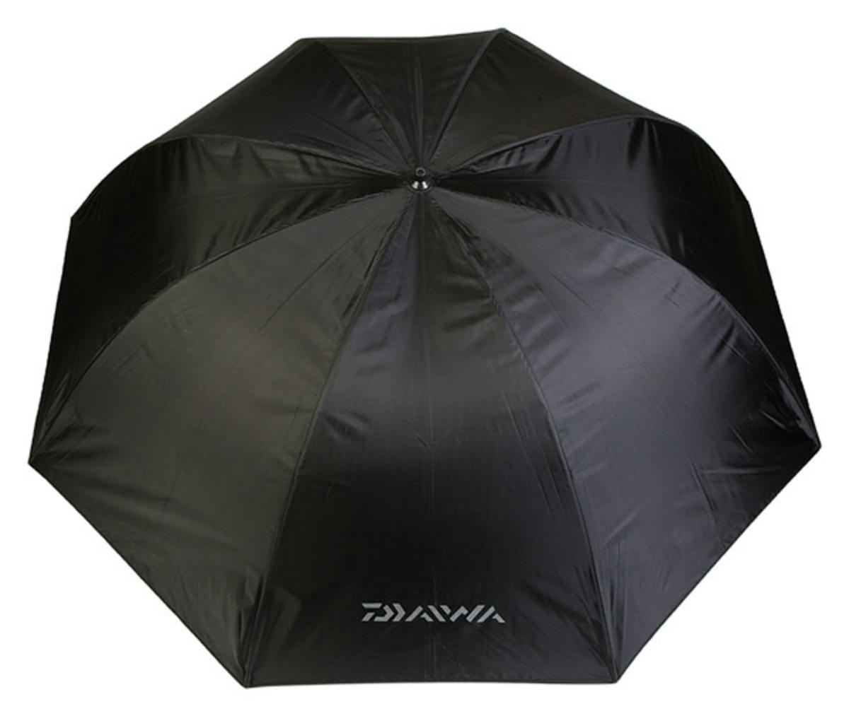 "New Daiwa Vector 125cm / 50"" Fishing Brolly / Umbrella Black - DVB125-B"