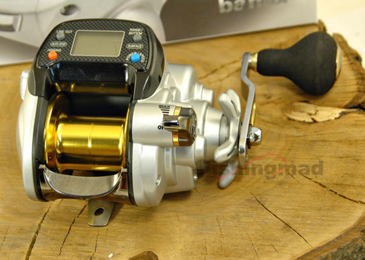 BANAX KAIGEN 500 TWIN MOTOR ELECTRIC MULTIPLIER REEL NEW MODEL