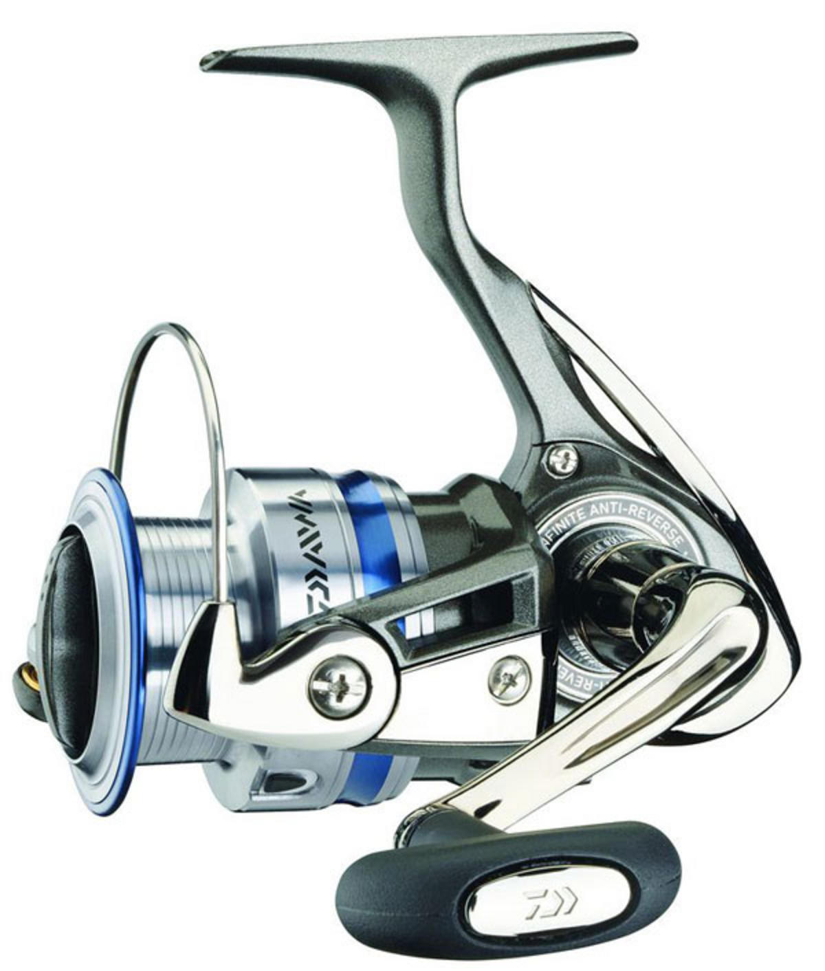 Ex display daiwa megaforce 4000a fishing spinning reel for Daiwa fishing reels