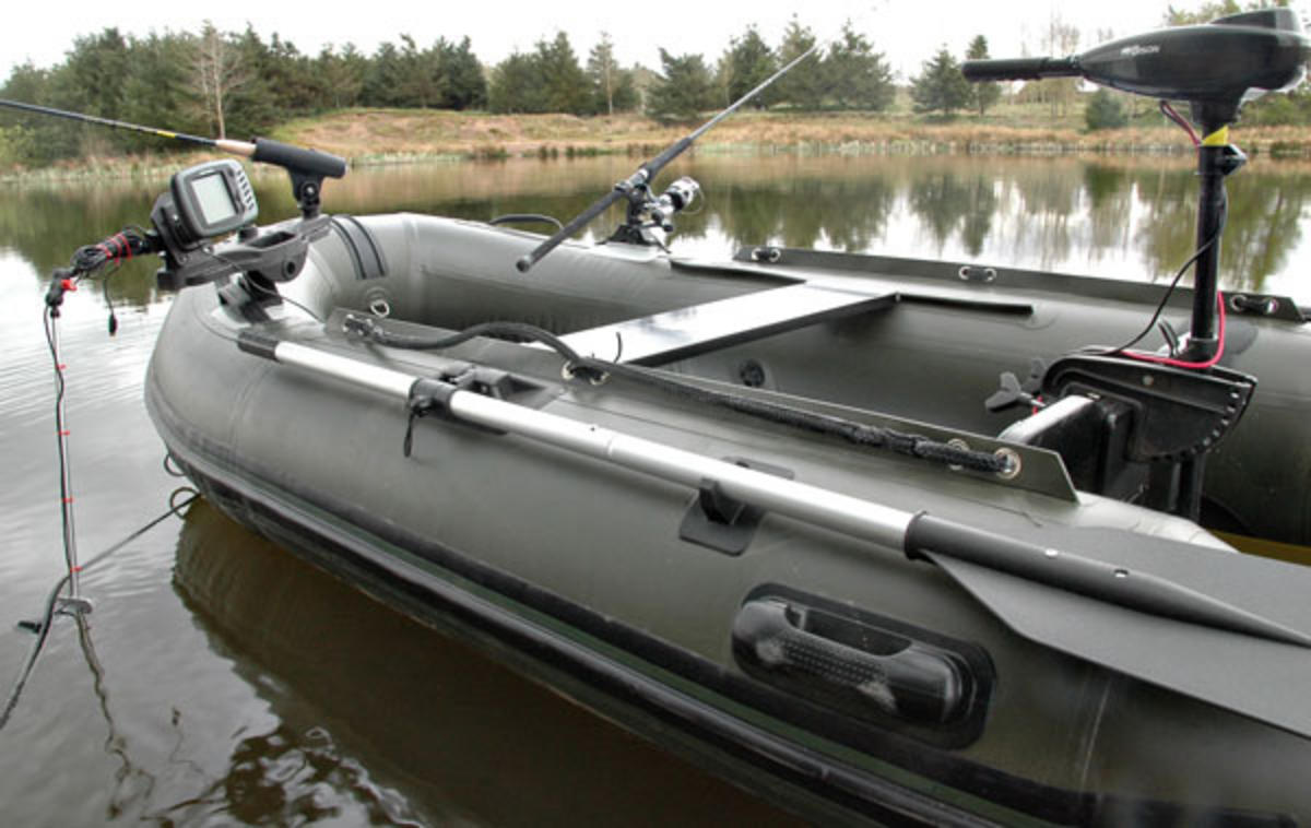 BISON MARINE OLIVE GREEN INFLATABLE FISHING SPORTS AIR RIB BOAT 2.7m ALU DECK | Boats & SUP ...