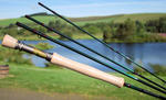 New Sharpe's of Aberdeen Gordon 4 9'6' #7 4 Piece Fly Fishing Rod