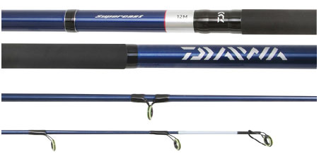 ex display daiwa supercast beach surf sea fishing rod model stb13f, Fishing Reels