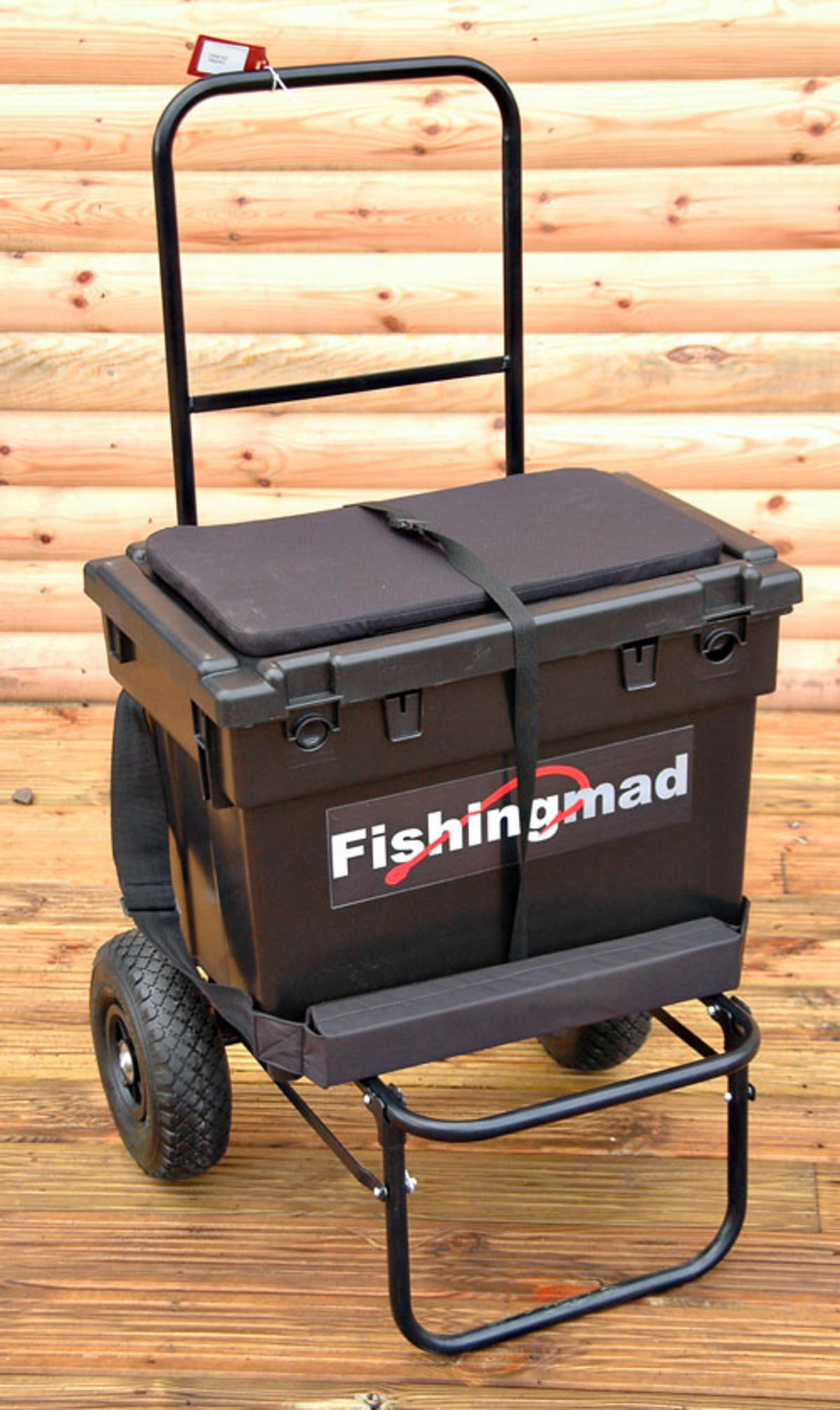 Bison Fishing Seat Box Trolley And Seatbox Barrows