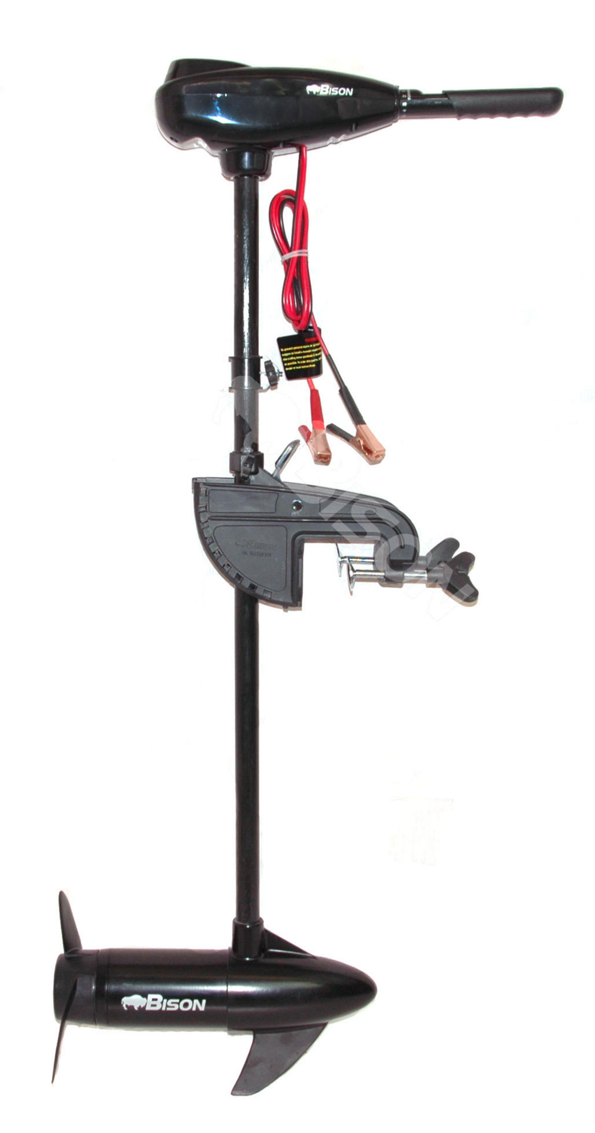 BISON 68'lb ELECTRIC OUTBOARD TROLLING MOTOR FREE SPARE 3 BLADE PROPELLER